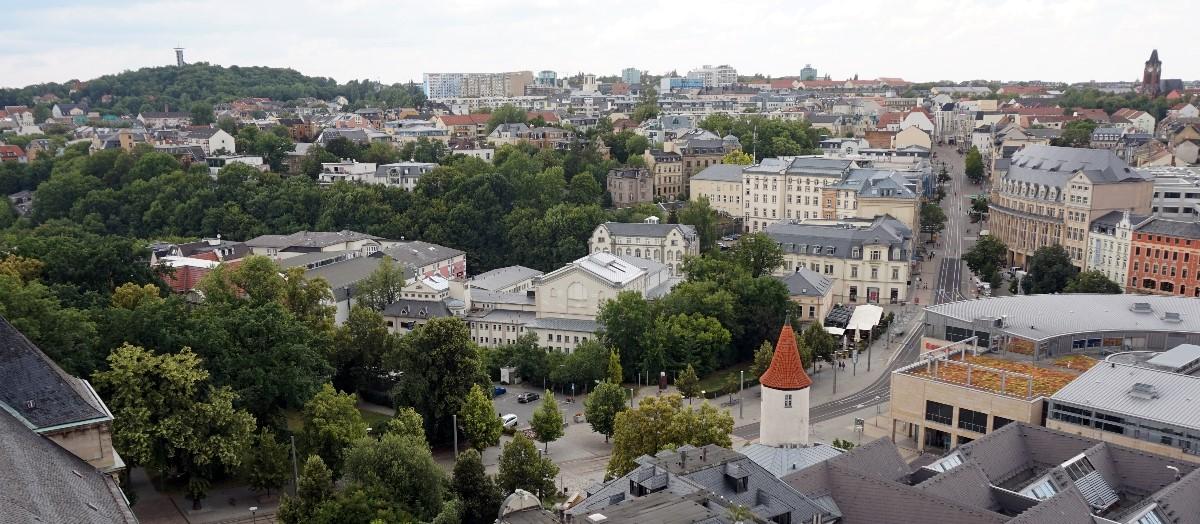 » alle Infos zur OB-Wahl 2021 in Plauen ...