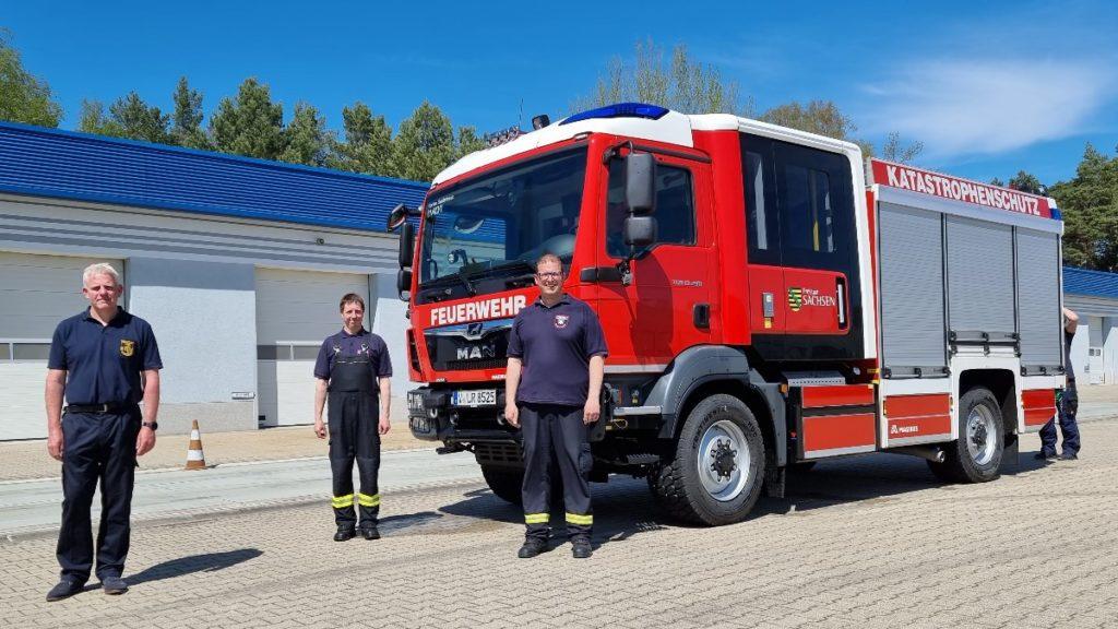 Neues Löschgruppenfahrzeug für den Katastrophenschutz übergeben