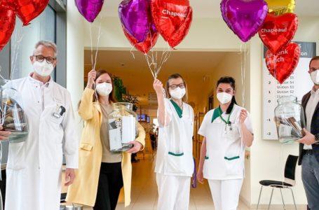 Das Helios Vogtland-Klinikums Plauen bedankt sich mit Gutscheinaktion bei den Mitarbeitern und unterstützt dabei die hiesigen Gewerbetreibenden Quelle: Helios Vogtland-Klinikum Plauen