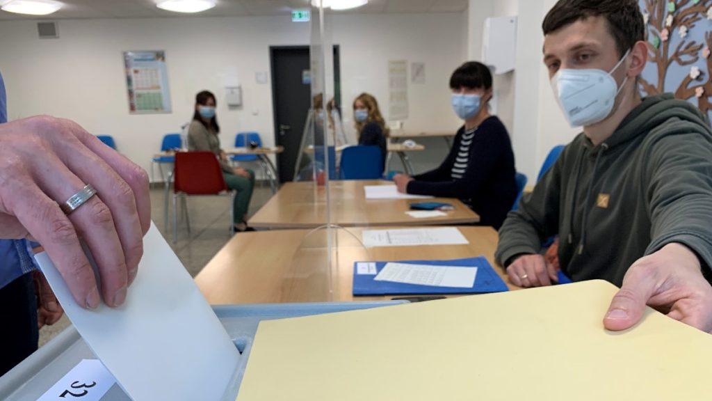 Wahllokale in Plauen geschlossen