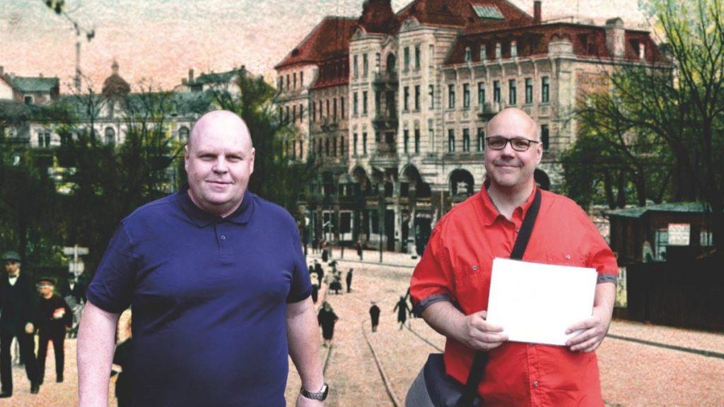Sonderschau im Haus Vogtland mit Lars und Lars