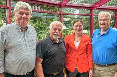 Yvonne Magwas besucht CDU-Senioren