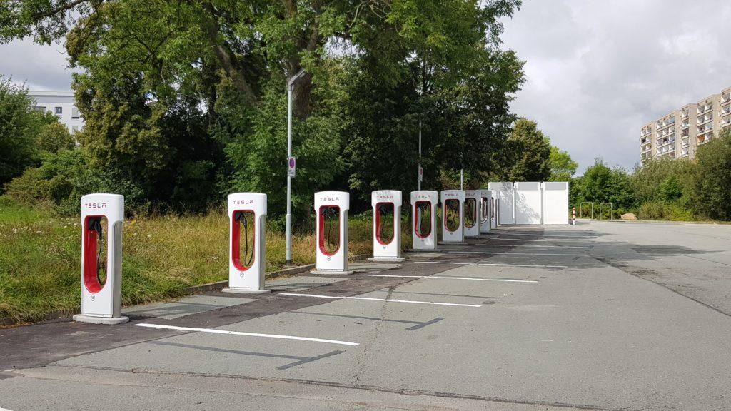 E-Ladestationen im Vogtland. Foto: Landratsamt Plauen