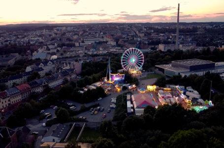 Sommer-Rummel in Plauen: Riesenrad bleibt länger