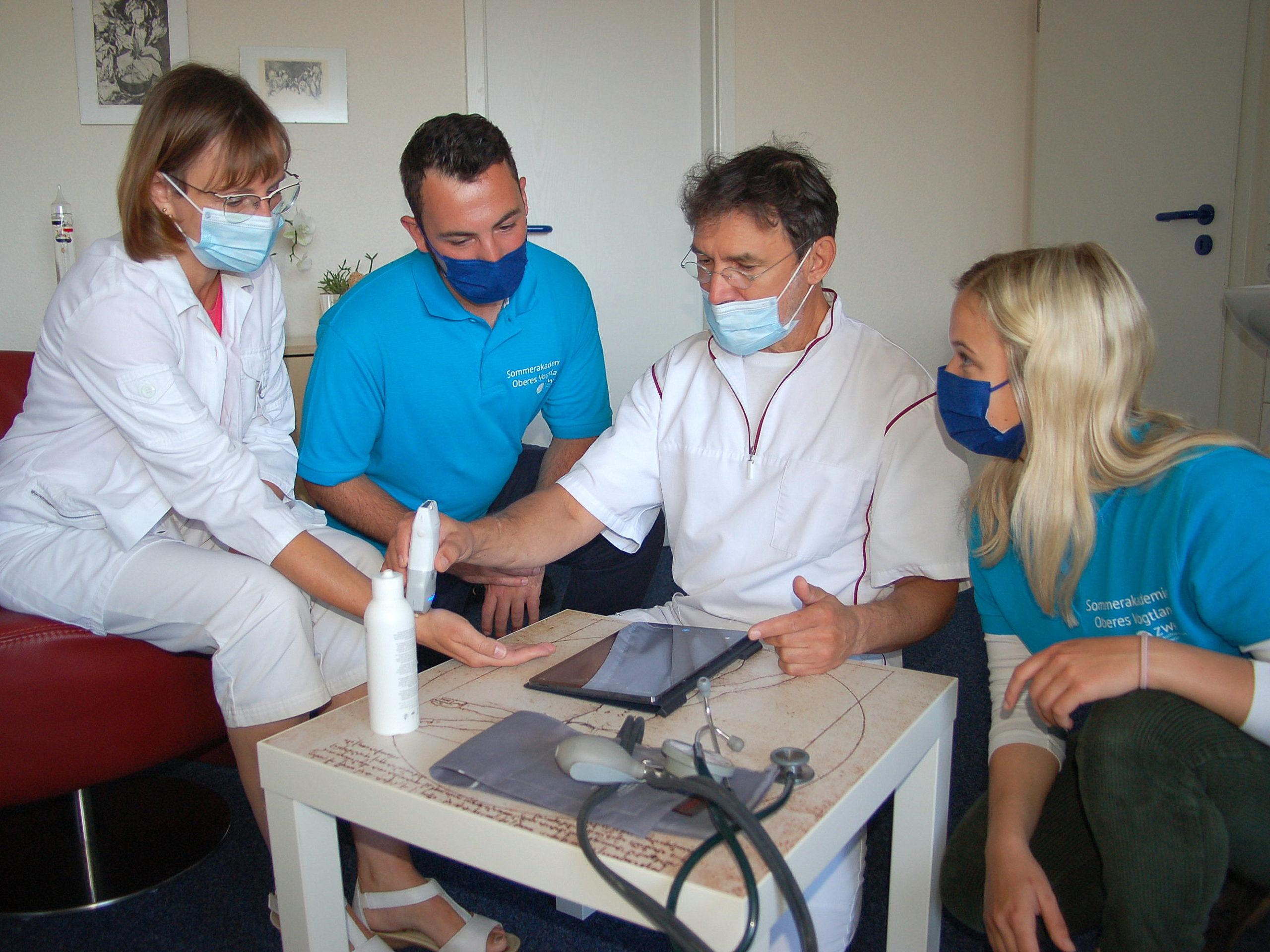 Medizinstudenten schnuppern Vogtlandluft