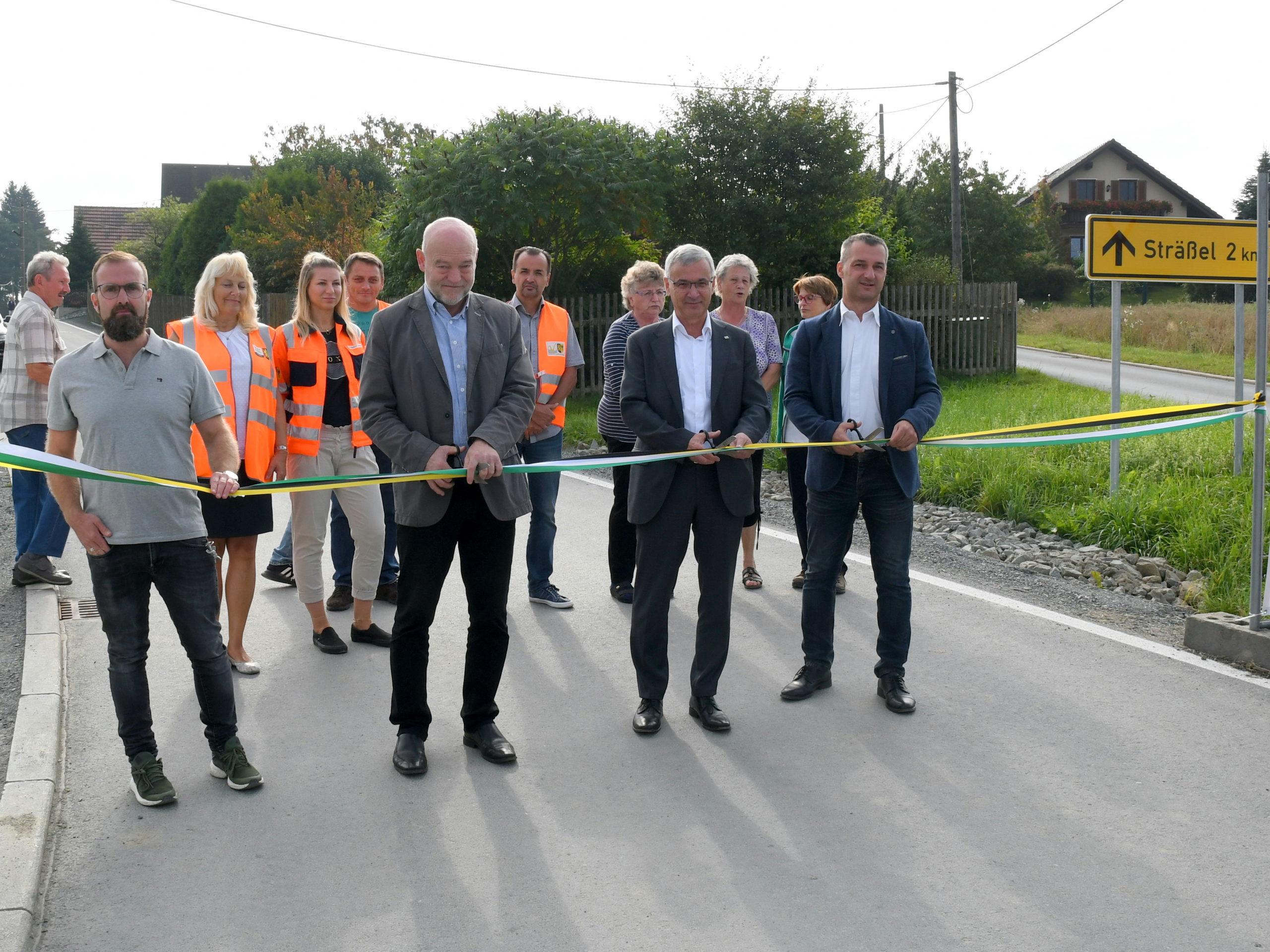 Landwüster Straße in Remtengrün wieder frei